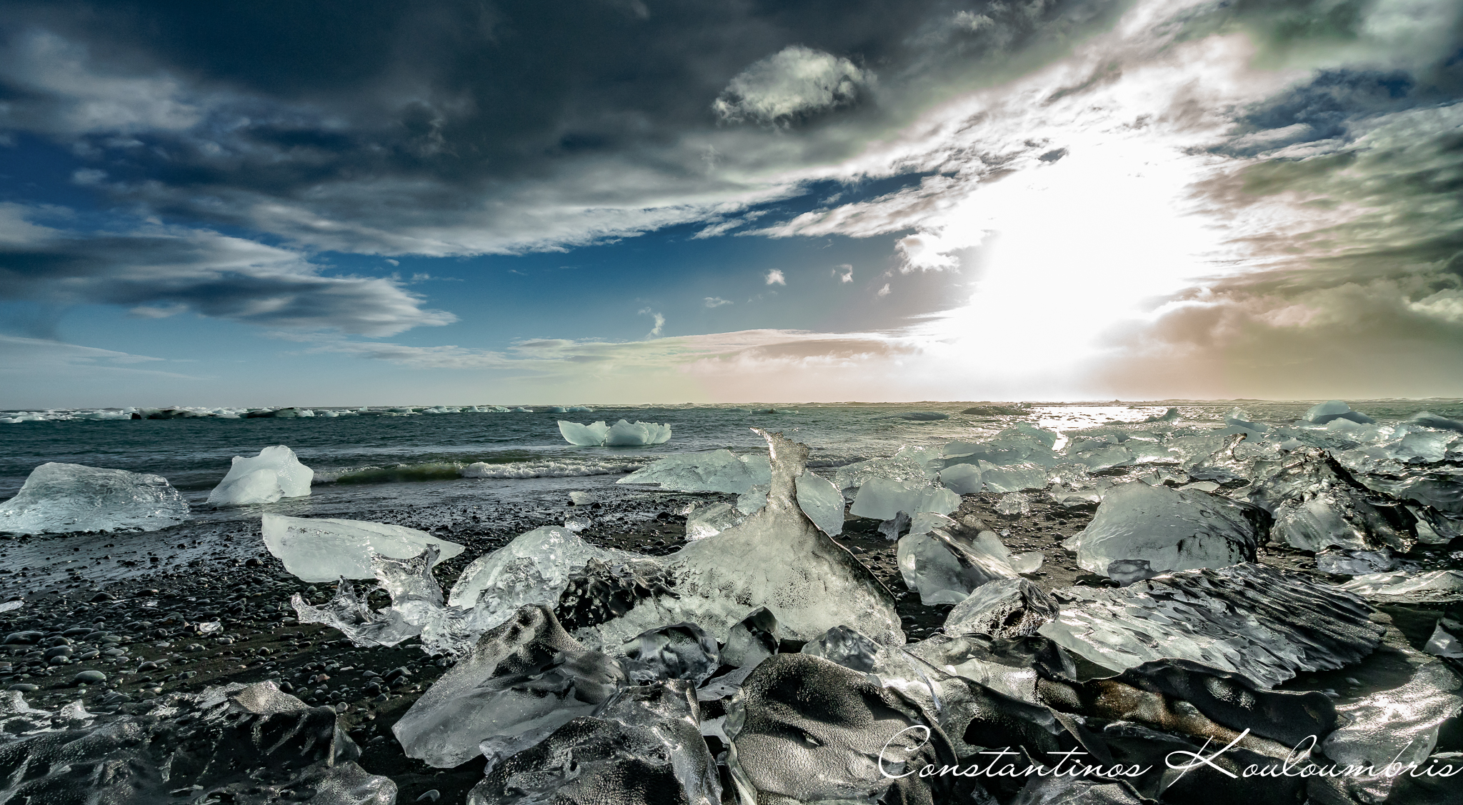 Black Diamond Beach, Iceland